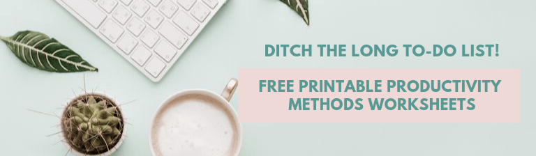 free printable worksheets for productivity
