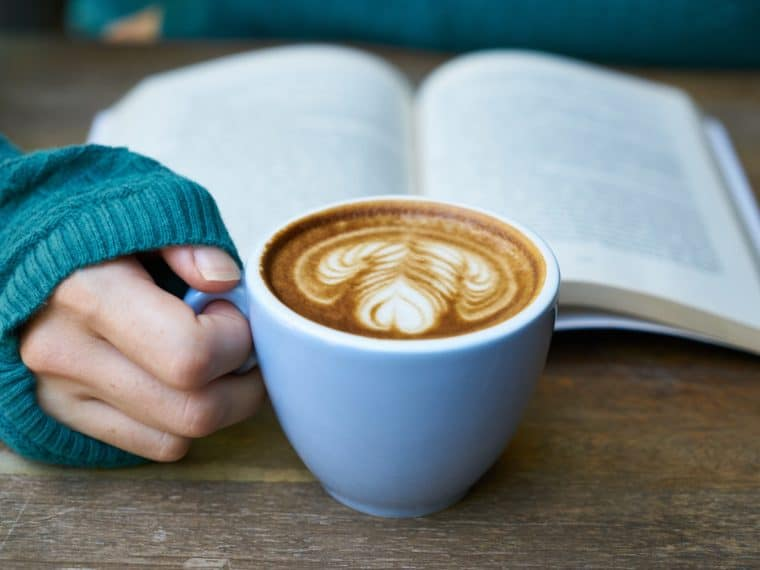 coffee and reading