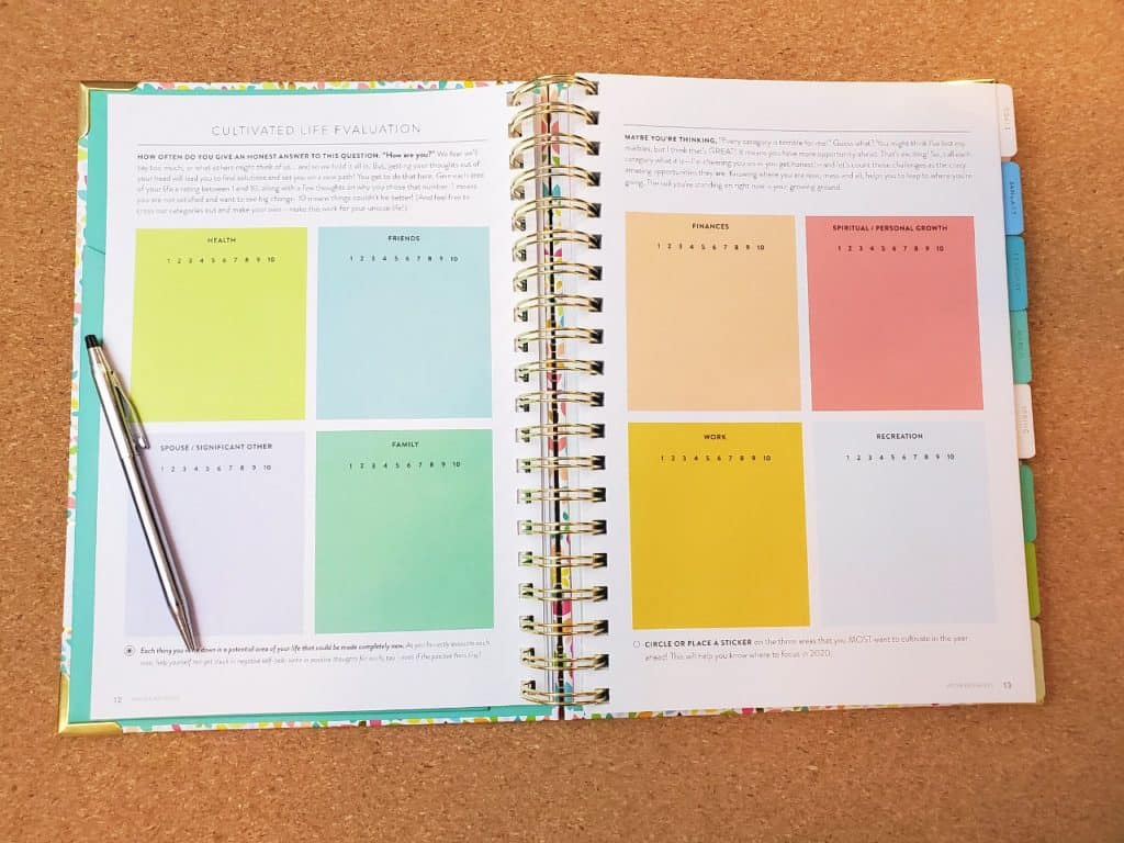 powersheets goal planner life assessment