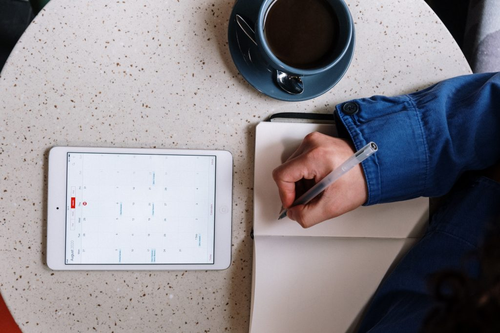 calendar planning and tracking