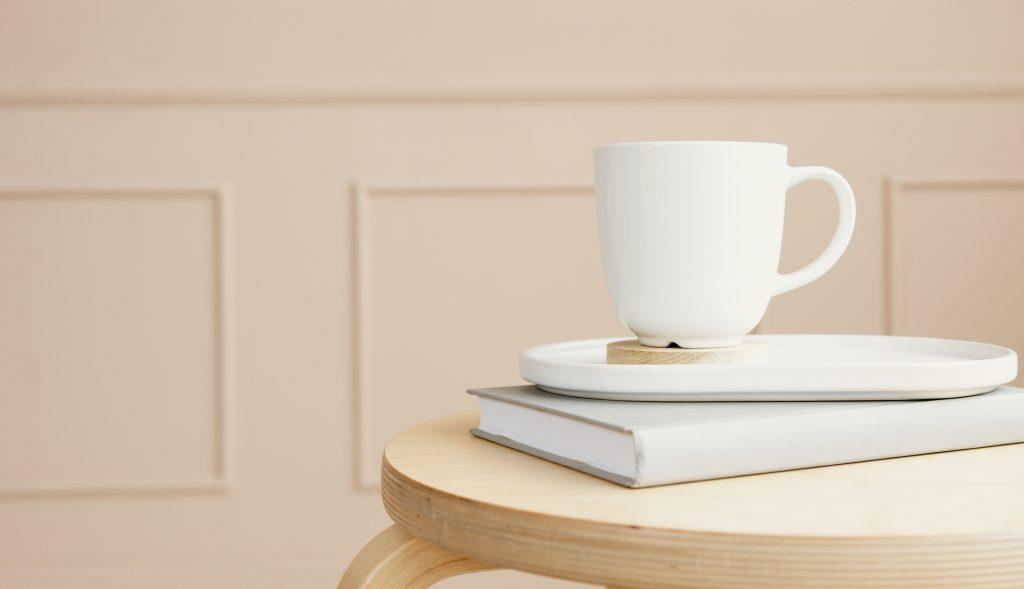simple coffee mug minimalist style
