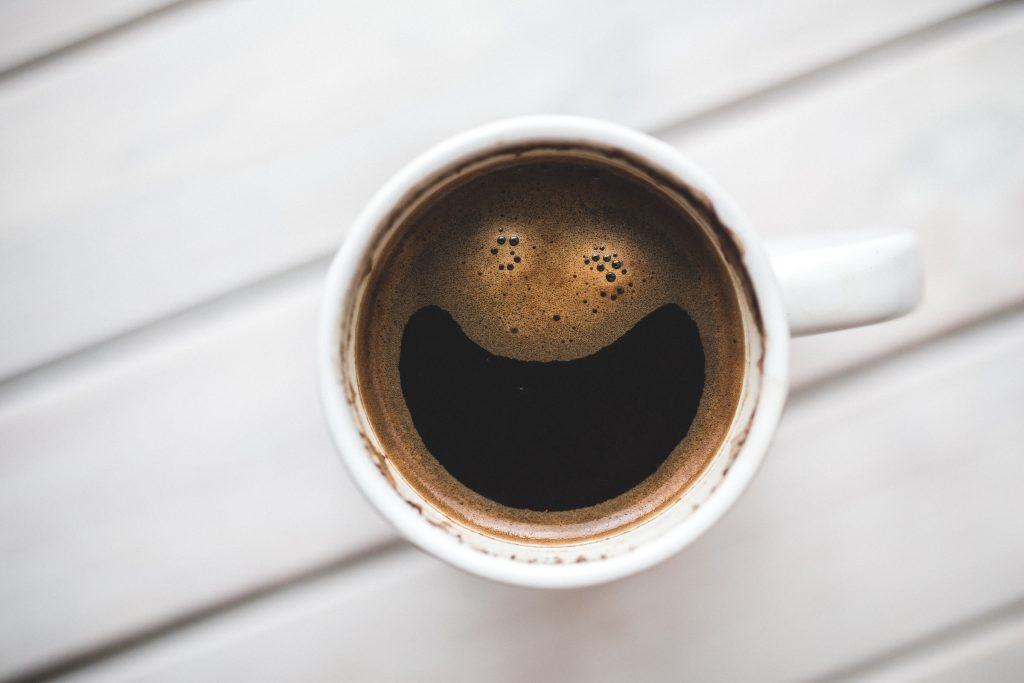 Image of a morning cup of coffee