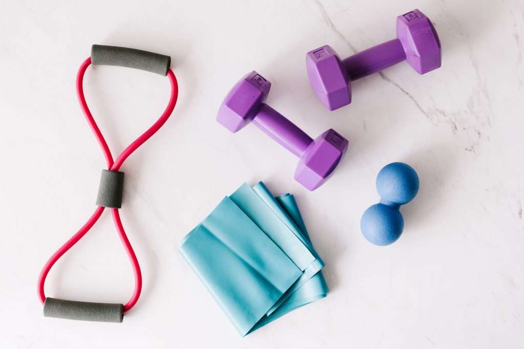 Image of home exercise equipment